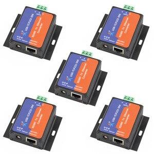 Image 1 - USR TCP232 304 Serielle RS485 zu TCP/IP Ethernet Server Converter Modul mit Gebaut in Webseite DHCP/DNS Unterstützt Module Q14870