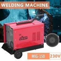 Professional 230V MIG 150 Welding Machine With Wheel Electric Welding Machine Multipurpose MIG Weldering Equipment UK Socket