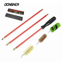 12 GA Airsoft Gun Cleaning Kit Brush Tubes Cleaner Portable Pistol Barrel Cleaning Tool Set With