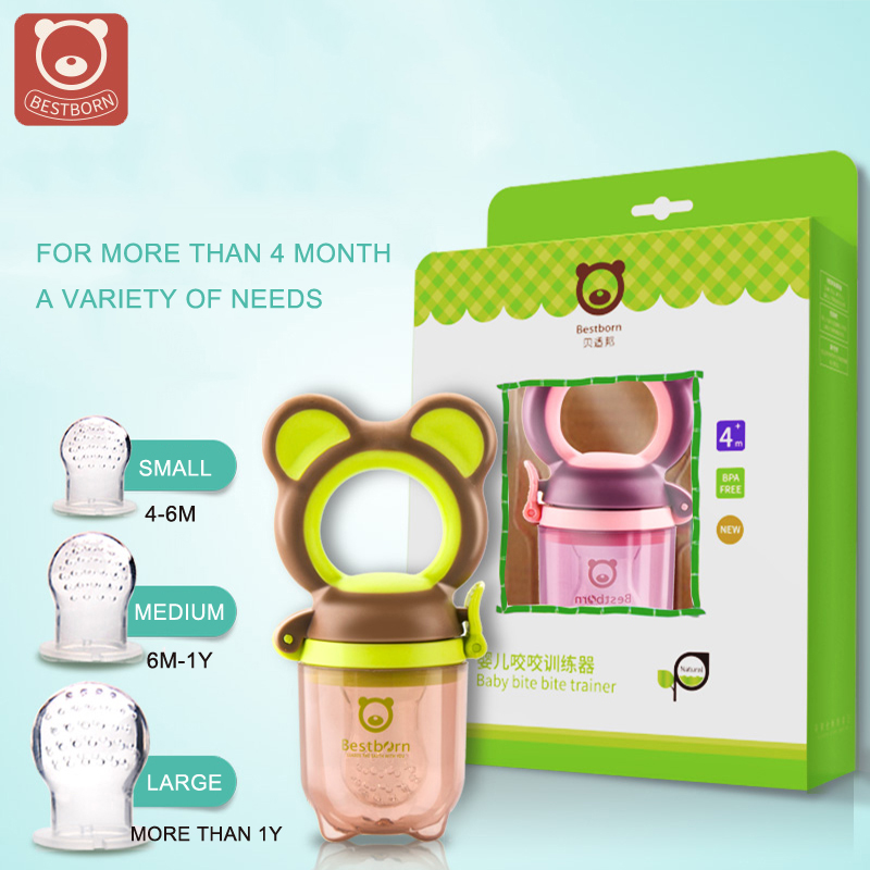High Quality Baby Pacifier set safety silicone baby food chew pacifier infant avent feeding pacifiers soother baby Nipple Bottle