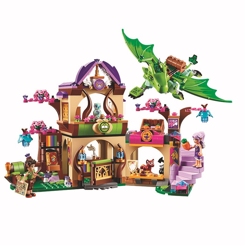 BELA Elves The Secret Market Place Building Blocks Sets Bricks Classic For Girl Friends Kids Model Toys Compatible Legoings charles chase w bricks matter the role of supply chains in building market driven differentiation
