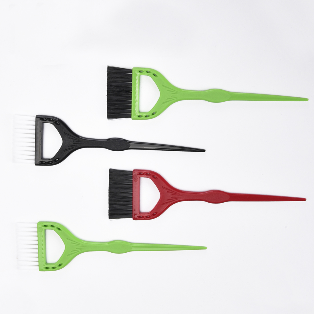 Coloring DIY Hairdressing Tool Combs  Plastic Hair Brushes Application Hall Hue Perm Lye Dye Comb Tools Dyeing Hall