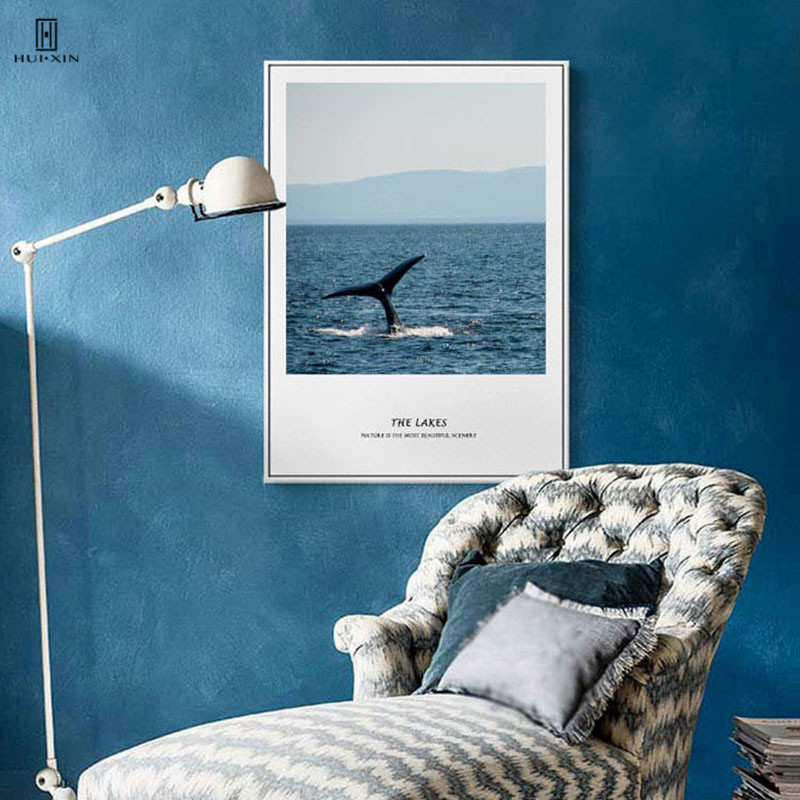 Cushion Cover Cheap Sale Beautiful Starry Sky Ocean Landscape Pillow Cushions Balloon Whale Dolphin Lavender Telephone Booth Pillowcases 43 Cm Decor Home Fashionable Patterns Home & Garden