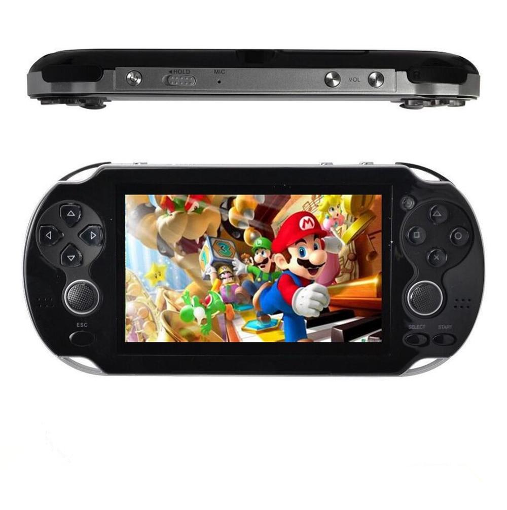 4.3 ''Médias Joueurs 8 GB 32Bit Jeux Intégré Portable De Poche Console de Jeu Vidéo Lecteur