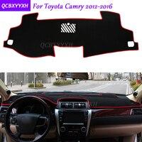 Для Toyota Camry 2012-2017 коврик для приборной панели защитный интерьер Photophobism коврик теневая Подушка Авто Стайлинг автомобильные аксессуары