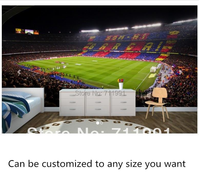 Customization van moderne behang stereo barcelona camp nou voor ...