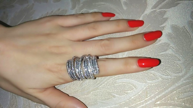 Cheap wedding band ring