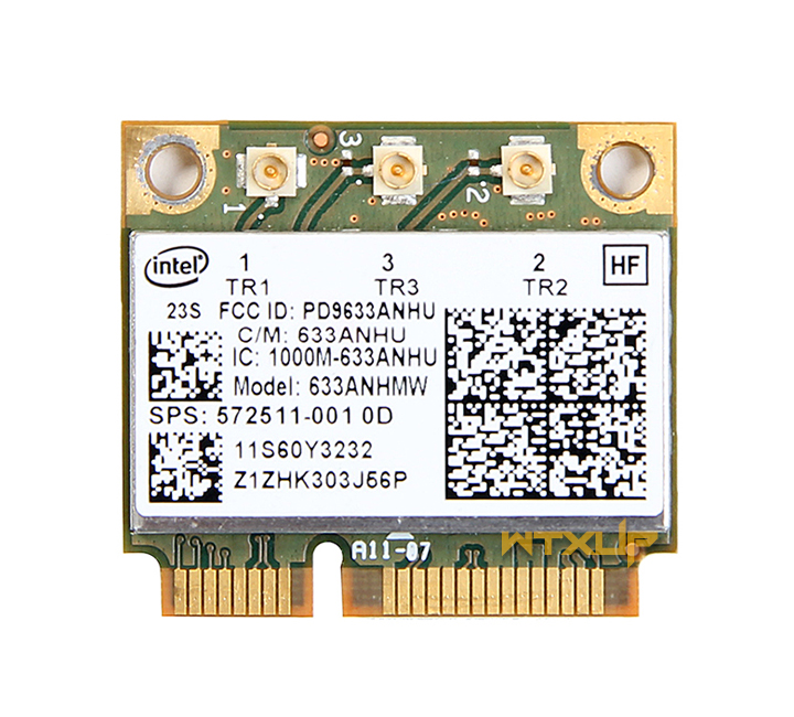 SSEA Card For Intel Ultimate-N 6300 633ANHMW 6300AGN Half Mini PCI-E 2.4G/5GHZ Wireless Card For Lenovo Y460 Y560 Y470 Y570 X201