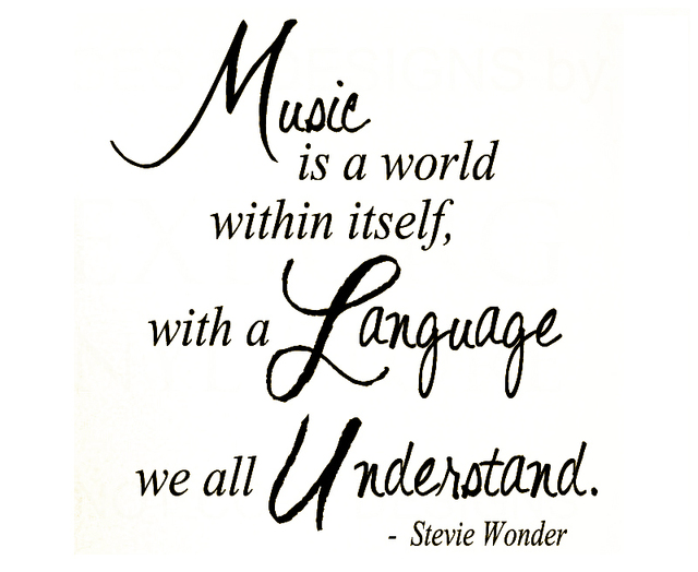 Wall Decal Quote Sticker Vinyl Art Removable Lettering Music Stevie