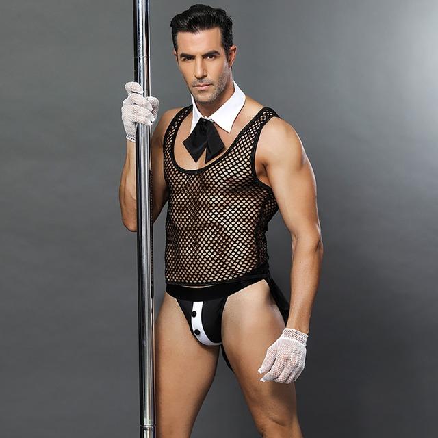 New Men Servant Roleplay Waiter Uniform
