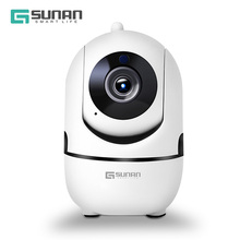 hot deal buy gsunan hd 1080p cctv security wifi ip camera cloud wireless mini ip camera wifi with intelligent auto tracking of human function