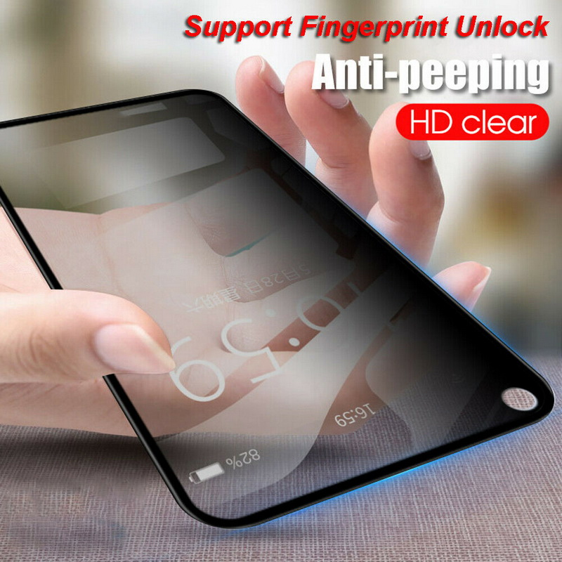 Screen-Protector Tempered-Glass-Film Privacy Note 9 Samsung Galaxy Anti-Peeping S10-Plus