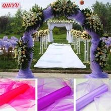 Tiul rolka 72CM * 10M kryształowy tiul Organza tiul sukienka rolka szpula Tutu miękkie wesele urodziny 8zSH015
