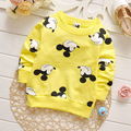 Children's New Style Spring Clothes Minnie Printing Baby Girls Boys Long Sleeve t shirt Tops Kids clothing