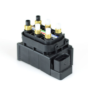 Image 4 - Für A6 AUDI A6/AVANT A7 AUDI A7 SPORTBACK 2011 2014 Luftfederung Magnetventil Block 7L8616007A 4H0616013