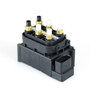 Image 4 - For A6 AUDI A6/AVANT A7 AUDI A7 SPORTBACK 2011 2014 Air Suspension Solenoid Valve Block 7L8616007A 4H0616013