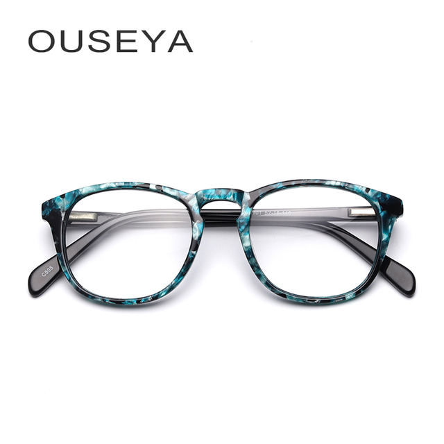 d977744a9e4 Acetate Kids Eyeglass Frames Fashion Prescription Myopia Clear Gift Retro Stylish  Kids Glasses Frames For Child