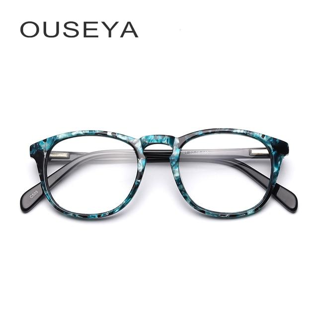 edb64a07fda6 Acetate Kids Eyeglass Frames Fashion Prescription Myopia Clear Gift Retro  Stylish Kids Glasses Frames For Child