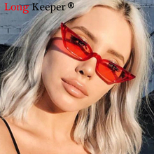 Long Keeper New Luxury Plastic Small Frame Cat Eye