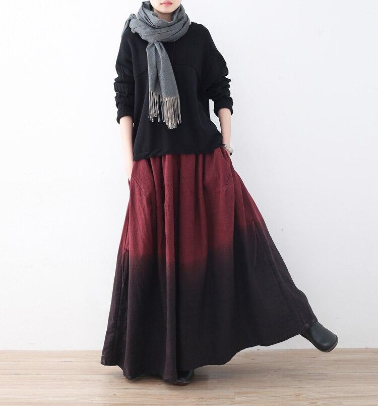 Jambe Pantalon La Plus Nouvelle Femmes 2018 Large Pleine Taille D'hiver Épaissir Longueur Black red grey Haute Chaud Mode Long Élastique AwYAxXCq