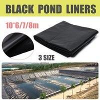 Fish Pond Liner Doek Thuis Tuin Zwembad Versterkte HDPE Zware Landschapsarchitectuur Zwembad Vijver Waterdicht Geomembrane Liner Doek Zwart