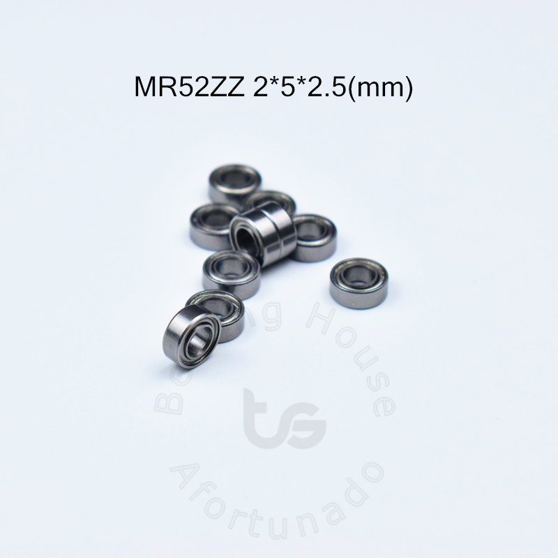 MR52ZZ 2*5*2.5(mm) 10piecesbearing free shipping ABEC-5 Metal Sealed Miniature Mini Bearing MR52 MR52ZZ chrome steel  bearingMR52ZZ 2*5*2.5(mm) 10piecesbearing free shipping ABEC-5 Metal Sealed Miniature Mini Bearing MR52 MR52ZZ chrome steel  bearing