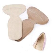 8 шт., моющиеся эластичные подушечки на пятке, мягкие туфли для многократного применения, облегчающие боль в форме Луны, гибкие самоклеющиеся противоскользящие