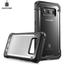 SUPCASE funda de protección híbrida para Samsung Galaxy S8Active, protector transparente de 5,8 pulgadas, serie Unicorn Beetle UB, TPU + PC