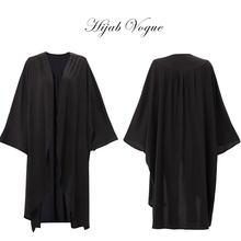 Islamic women clothes black open front design with free size female muslim clothing moslima blouses