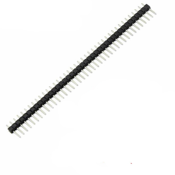 Free shipping 10pcs 40 Pin 1x40 Single Row Male 2.54