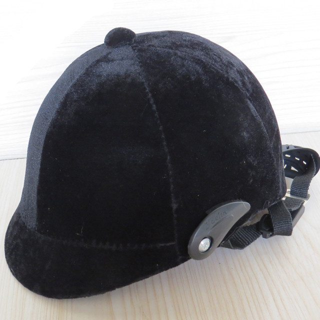 High Quality Adjustable Equestrian Horse Riding Helmet  Equestrian Helmets Casco Capacete Riding Equipment  Black