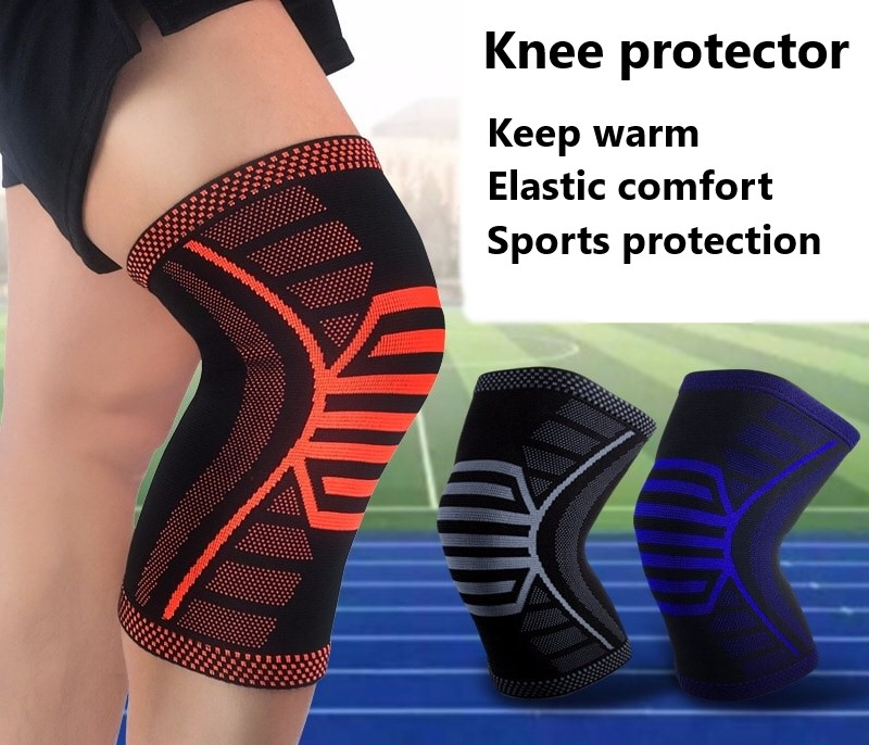 Professional Sports Knee Protector Basketball Running, Mountaineering, Leg Protector Outdoor Riding, Knee Joint Protector