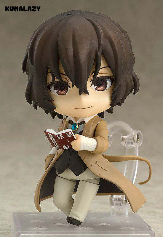 Bungo Stray Dogs Dazai Osamu Nakajima Atsushi Q version 10CM Nendoroid PVC Action Figures Collectible Model Toys captain america civil war iron man 618 q version 10cm nendoroid pvc action figures model collectible toys