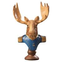 23e214257 Fancy Fairy Garden Cartoon Horse Deer Rabbit Resin Crafts Miniatures  Ornament Cute Horse Figurines Garden Home