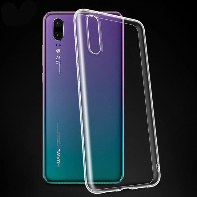 Phone Cases For Honor 8 8X Max 10 Lite 9 Transparent Silicon Soft TPU Case For Huawei P30 P20 Pro Lite Mate 20 Pro Back Cover