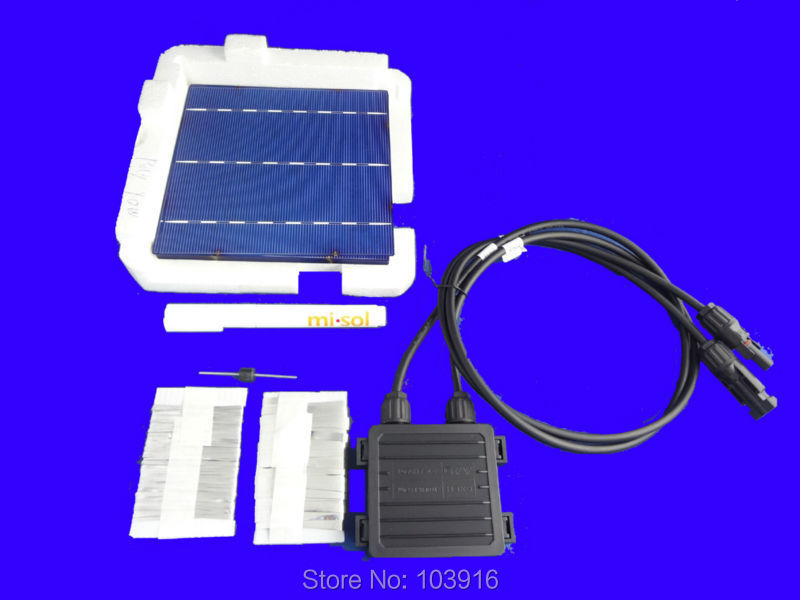 40 pcs POLY 6x6 DIY kit for solar panel, solar cells, flux pen, diode, bus tabbing wire, junction box diy 5v 2a voltage regulator junction box solar panel charger special kit