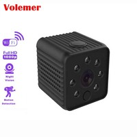 Volemer Wifi Micro Camera Full Hd 1080P Infrared Night Version Monitor Concealed Video Voice Recorder DV Camera Small Camera