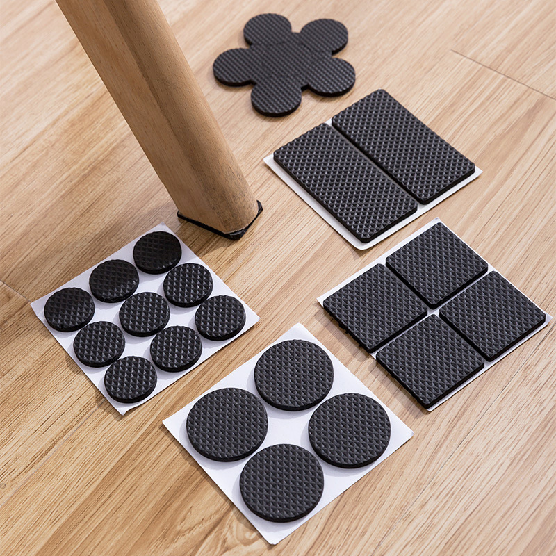 8/16/24 teile/los Stuhl Bein Pads Boden Protektoren für Möbel Beine Tisch leg Covers Runde Bottom Anti slip Boden Pads Gummi Füße