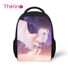 Thikin How to Train Your Dragon Preschool Packie Backpack for Kids Pupil's Cat  School Bag Boys Mini Shoulder Bag Travel Mochila how to train your dragon school bag noctilucous backpack student school bag notebook backpack daily backpack
