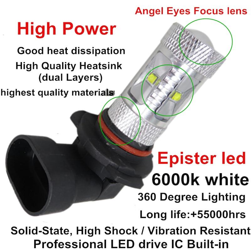 LED Luzes Do Carro 9006 HB4 Luzes