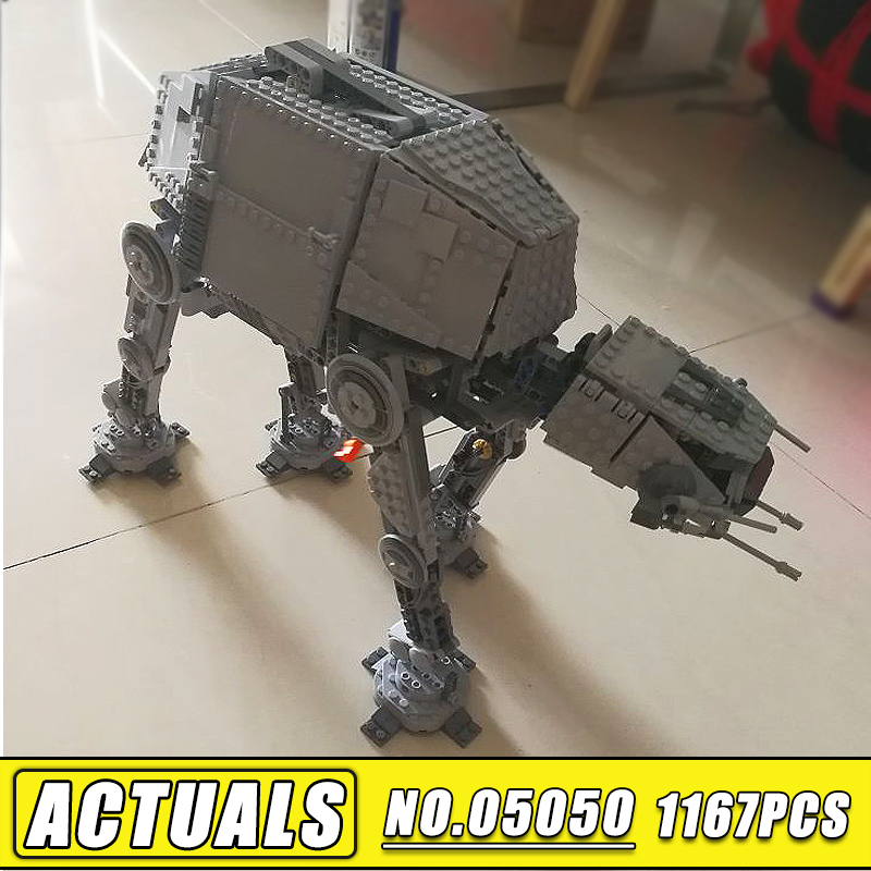 Bei Fen 1137pcs Star Series Wars LEPIN 05050 AT the AT RC Robot Model Building Blocks Brick Compatible 75054 Children Toys Gift bei fen dark edition transformation automobile tank robot big model 29cm plastic and alloy children gift brinquedos technologica