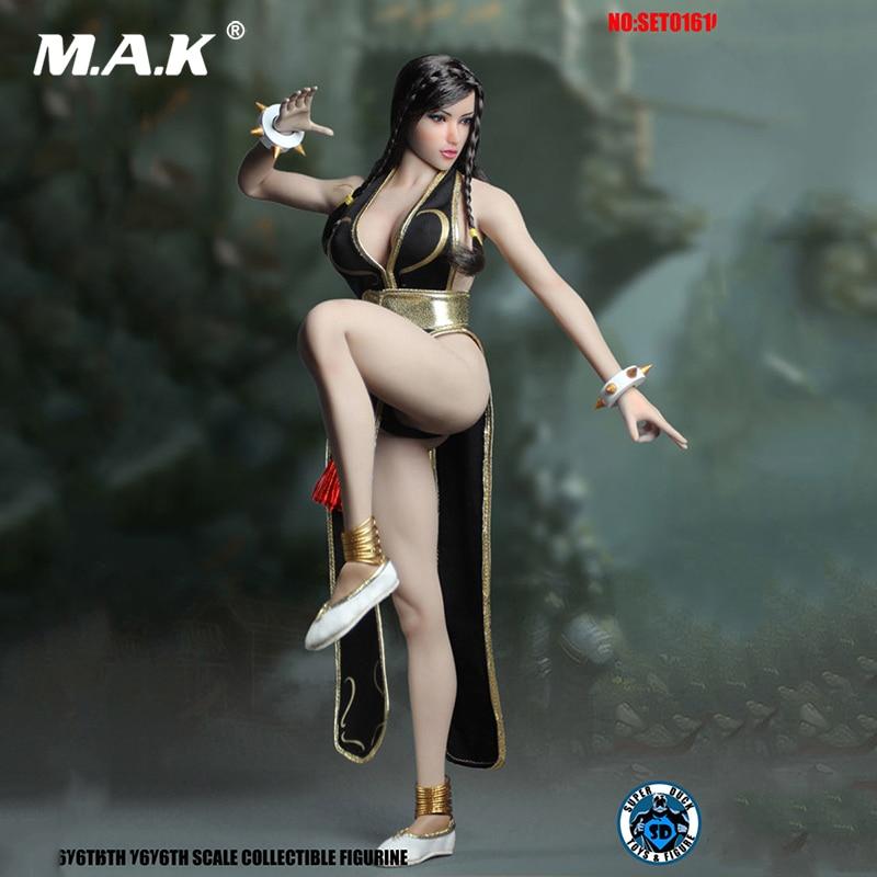 Super pato set016 1/6th luta deusa 2.0 série cosplay para 12