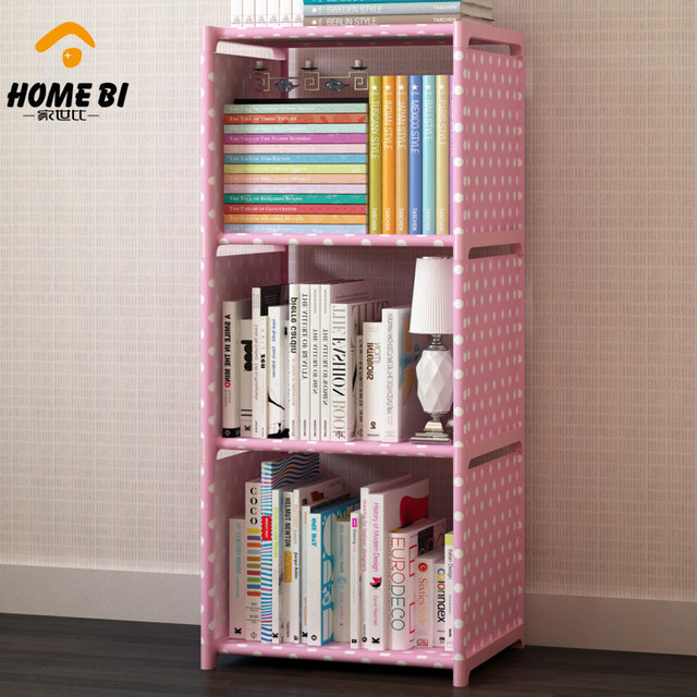 simple solid steel bookshelves student dormitory bedroom bookcase shelf assembly simple assembly keystone special - Steel Bookshelves