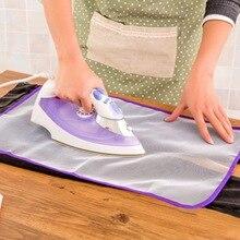 Bügelbrett Abdeckung Schutzhülle Presse Mesh Eisen für Bügeln Tuch Schutz Schützen Empfindliche Garment Kleidung Hause Zubehör