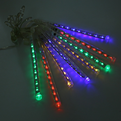 20CM LED Waterproof Meteor Shower String Light Rain Tube Decorative Hanging Light US OR EU PLUG
