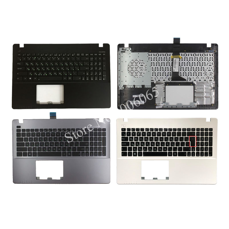 New Russian Laptop <font><b>Keyboard</b></font> for <font><b>ASUS</b></font> <font><b>X550</b></font> K550V X550C X550VC X550J X550V A550L Y581C F550 R510L RU Palmrest Upper <font><b>Cover</b></font> image
