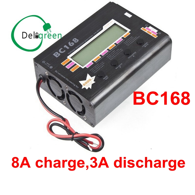 AOK BC168 1-6S 8A 200W Super Speed LCD Intellective Balance Charger/Discharger rc helicopter part Dropship wholesale 1pcs aok bc168 1 6s 8a 200w super speed lcd intellective balance charger discharger rc helicopter part