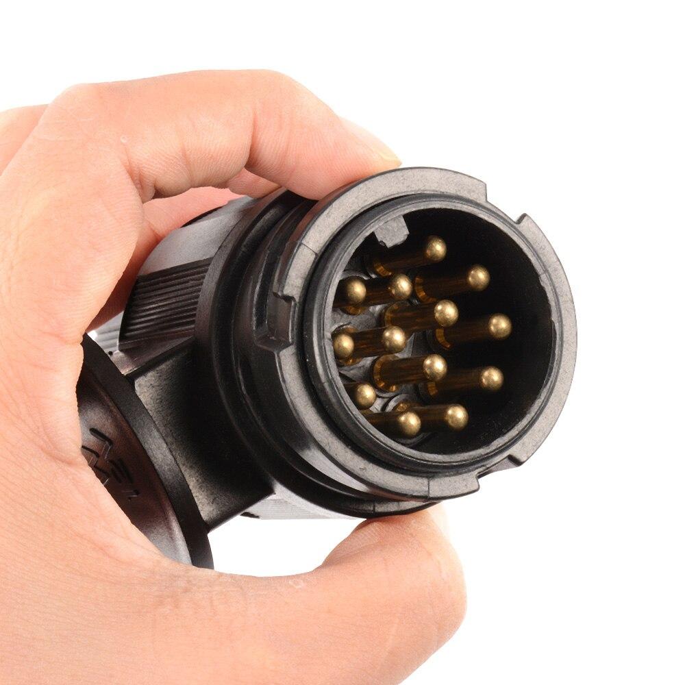 13-контактный разъем водонепроницаемый разъем авто прицеп дышло адаптер 12 в cy454-ЦН