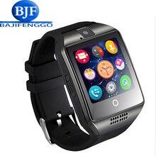 Q18 reloj inteligente para android apoyo GPRS bluetooth hombres mujeres sport reloj inteligente para Samsung teléfono usable GT08 DZ09 GV18