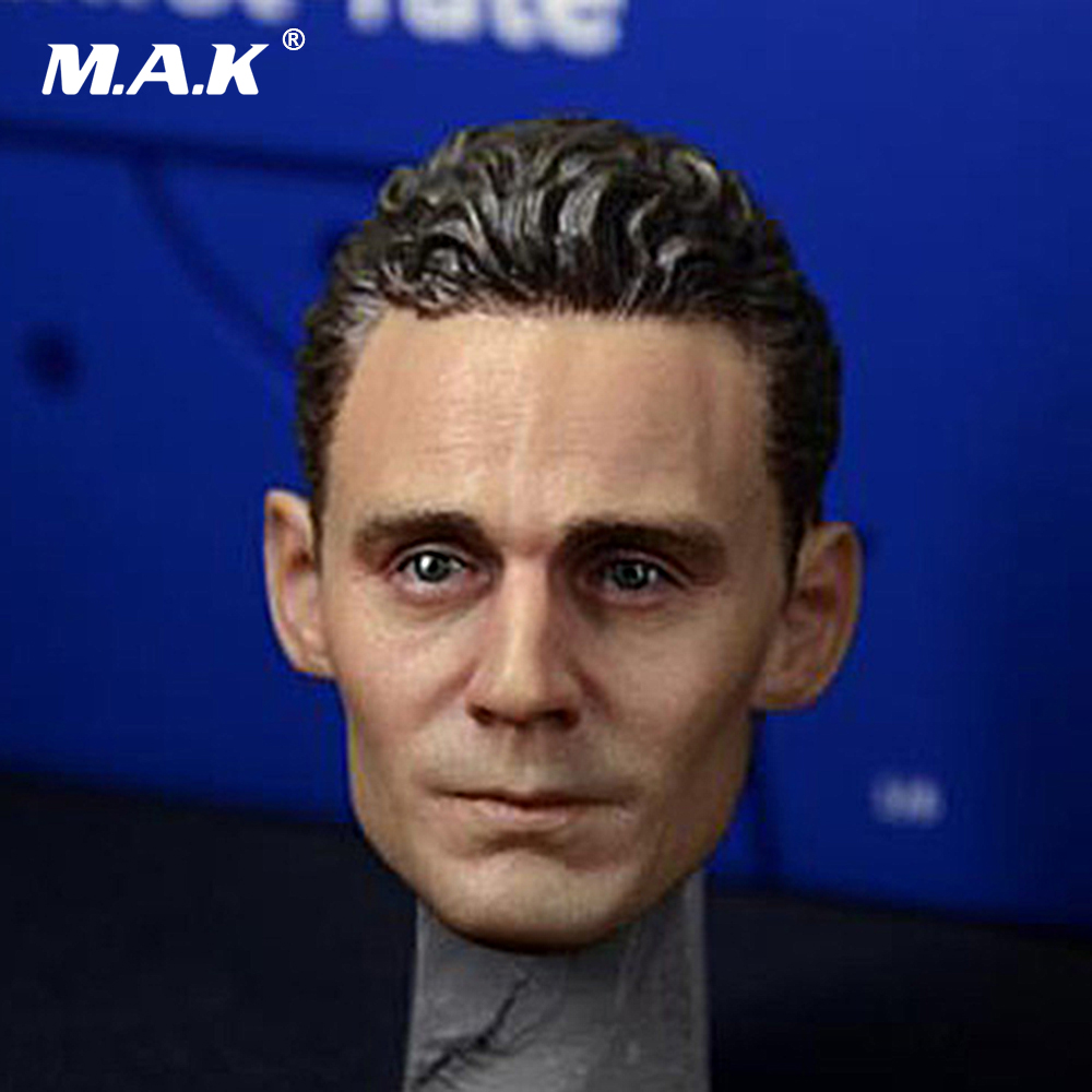 1/6 Avengers Loki Head Sculpt Tom Hiddleston Headplay for 12 inches Male Action Figure